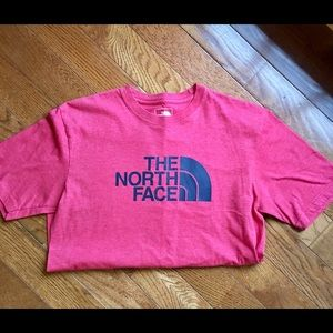 North Face red T-shirt Size Small